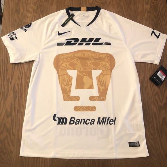 online retailer 1cf89 71043 Nike Pumas UNAM Home Soccer Jersey 2018-19 NWT